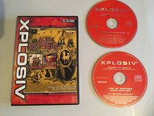 AGE OF EMPIRES Gold Edition Inc Rise of Rome  + Motocross Madness 2 PC games