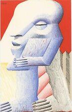 "Horst antes ""pequeña figura"", 1977 litografía autografiada"