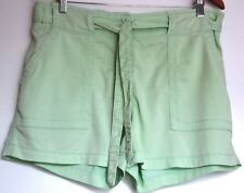 COUNTRY ROAD  Womens Mint Green Shorts with self Tie Size 12 - 14