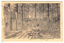 Flandern SCHÜTZENGRABEN * Künstler-AK um 1916 * 414. Inf. Regiment 6. Kompanie