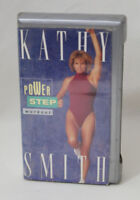 Kathy Smith Power Step Workout VHS Video Tape Fitness Exercise Vintage 1994