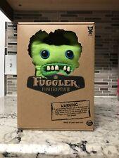 Green Fuggler : Sir Horns Alot : Funny Ugly Monster felt Plush Plushie Fugglers
