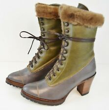 Koolaburra by UGG Women's Classic Tall Winter Leather Boots, Size 5 US Shoes