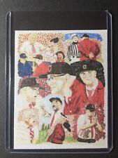Ohio State Woody Hayes Refractor Sketch Card Print #3/9 SignedbyArtistT.Keaton