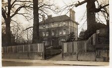 THE ELMS Detached House Unknown Location Real Photo Postcard (148HS)