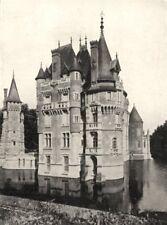 LOIRET. Chateau de Combreux 1900 old antique vintage print picture