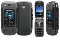 Samsung Convoy 3 SCH-U680 -Grey c(Verizon) Rugged Flip Cell Phone(Page Plus)