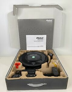 iRobot Roomba 770 Vacuum Cleaning Robot Black 77002 With  XLife Extended Battery