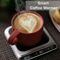 Smart USB Mug Warmer Heater Coaster Temperature Heat Coffee Cup Great Office AU!
