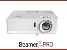 Optoma ZH406 -Kompakter Laserprojektor,3D - 4500 ANSI-Lumen - FullHD, Beamer
