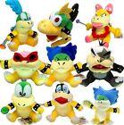 9X Super Mario Koopalings Larry Iggy Lemmy Roy Ludwig Wendy Koopa Plush Soft Toy