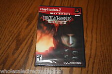 Dirge of Cerberus: Final Fantasy VII Sony PlayStation 2 Brand New Factory Sealed