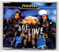 Scooter Maxi-CD The Age Of Love REMIXES - German 5-track CD