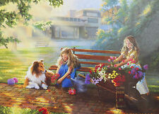 .PUZZLE.....JIGSAW.....ROTTINGHAUS...Little Bouquets.....500pc..