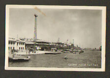 PORT SAID (EGYPTE) POSTE de POLICE du PORT en 1951