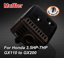 Muffler For Honda Stationary Engine GX120 GX200 4.5Hp 5.5HP 6.5HP