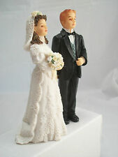 Resin Doll - Bride & Groom Wedding Figurines 3091 & 3089  1/12 scale Houseworks