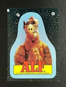 1988 Topps 2nd Series ALF Sticker - No.20