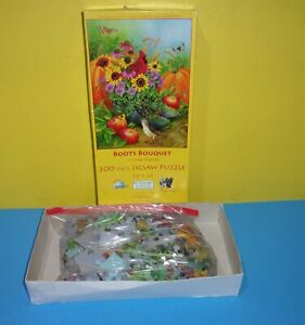 SunsOut - BOOTS BOUQUET - 300pc Large Pieces Puzzle - Jane Maday