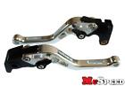 DUCATI M900/M1000 2000-2005 Short Adjustable Brake & Clutch CNC Levers Silver