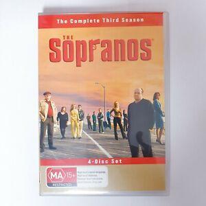 The Sopranos Season 3 DVD TV Series Region 4 AUS Free Postage - Crime Drama