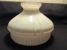"10"" MILK GLASS ALADDIN SHADE"