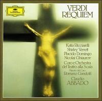 Verdi: Requiem CD 1985 2 Discs Deutsche Grammophon Domingo Ricciarelli Verrät