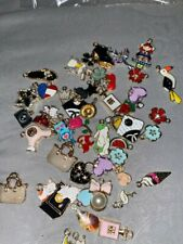 50PCS Assorted Designs Enamel Jewelry Charms Bracelet Necklace Earring Floating