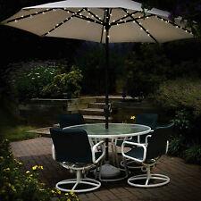 Ombrello ad energia solare luci 60 LED Stringa giardino ombrellone Lucine Outdoor