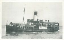 Postcard shipping Mersey ferry Royal Iris Friends of the Ferries card