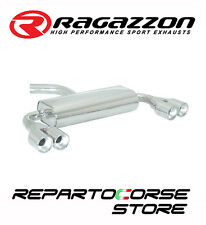 RAGAZZON SCARICO SDOPPIATO TERMINALI TONDI 2/2x80 VW GOLF V 5 2.0T FSI GTI 147kW