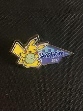 Pokemon 2017 Anaheim World Championship Collector PIKACHU PIN - NEW