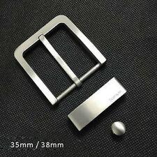 Titanium Belt Buckle Needle Pin Buckle Antiallergic Fastener DIY Unisex Gift