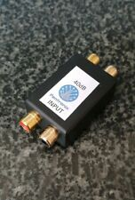 SAA40PH Stereo Audio Attenuator 40dB convert from line to mic level, camcorders