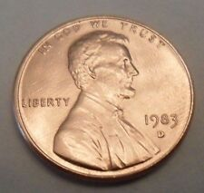 1983 D Lincoln Memorial Cent / Penny  **FREE SHIPPING**