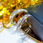 Elegant 925 Silver,gold,rose Gold Hoop Earrings For Women Wedding Jewelry