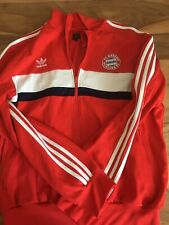 Original Adidas FC Bayern Jacke Trainingsjacke Rot Größe L