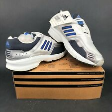 adidas Cetus W Lace Up White Silver Blue Running Shoes Mens 9 2000s 2001 Rare