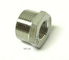 "1"" X 3/8"" 150# Cast Threaded (NPT) Hex Bushing 304 Stainless Steel <SS12060341"