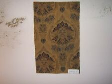 """Robert Allen """"Andtrada"""" tapestry novelty fabric remnant for crafts color ink"""