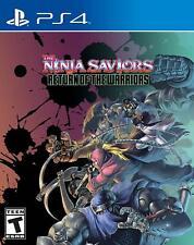 The Ninja Saviors Return of the Warriors [Sony PlayStation 4 PS4 ININ Games] NEW