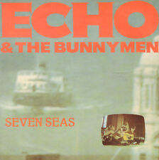 "ECHO & THE BUNNYMEN ‎– Seven Seas / All You Need Is Love (1984 VINYL SINGLE 7"")"