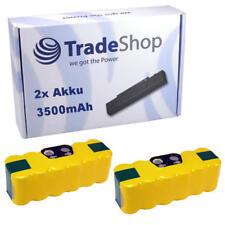2x TradeShop Akku 14,4V 3500mAh für iRobot Roomba 531 534 564 565 590 505 521