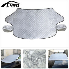 Foldable Car Snow Protect Cover Magnet Windshield Ice Sun Frost Protector Tarp