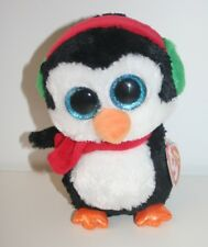 80aebe1fef0 Ty Beanie Boos boo(tagged) Christmas Penguin North cuddly soft toy