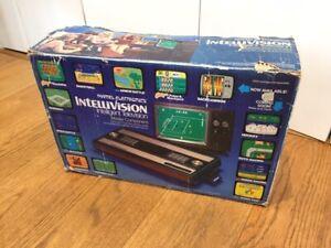 MATTEL Intellivision Games console.