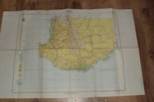 AUSTRALIAN GEOGRAPHICAL MAP - ALBANY - 1st EDITION 1958