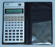 Taschenrechner Casio FX-602P Calc 80er programmable calculator ohne Schalter