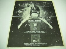 Elo Electric Light Orchestra original 1979 R.S.M. Promo Ad Thrill Of Victory