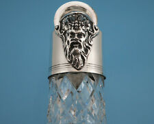 Bacchus Karaffe - Kristallglas / versilbert - England - #GSF4478